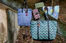 Hand-Dyed Ikat Handbags - Push Pull Cambodia is a Social Enterprise with a Sense of Style