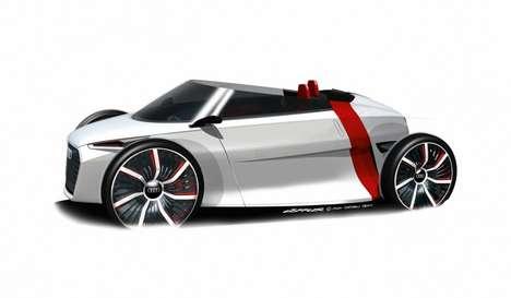 Futuristic Lightweight Convertibles