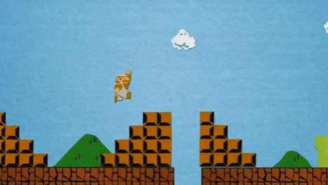 Paper Video Game Recreations