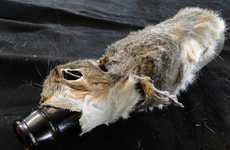 Roadkill Bottle Sleeves - The Squirrel Beer Bottle Cozy is Disturbing and a Bit Morbid