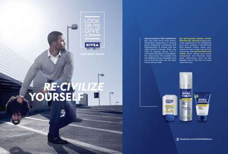 Controversial Cleanser Campaigns