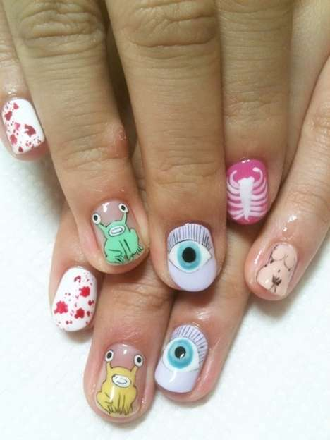 Disco Nails in Japan Creates Any and All of Your Design Dreams
