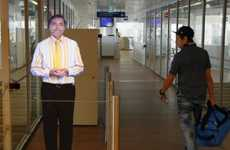 Hologram Travel Hosts - Paris' Orly Airport Introduces Travelers to Holographic Boarding Agents