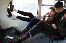 Heartbreaking Shoe Campaigns - Lose Yourself in the Agyness Deyn 'First and Forever' Dr. Martens Ad