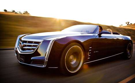 Classic Roofless Cars - The Cadillac Ciel Concept Recalls a Bygone Era