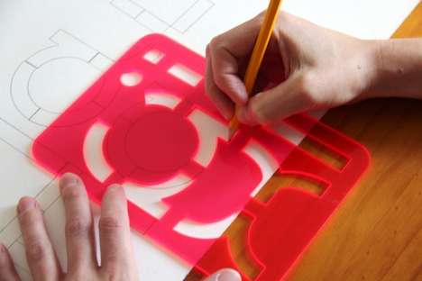 Typographical Stencil Toys