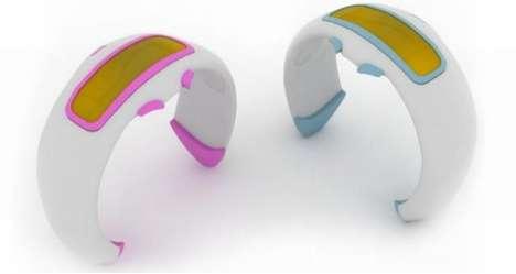 Form-Fitting Music Bracelets