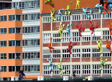 Creepy Climbing Installations