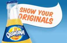 Friends Forever Campaigns - The Orangina App Reveals Meaningful Facebook Relationships