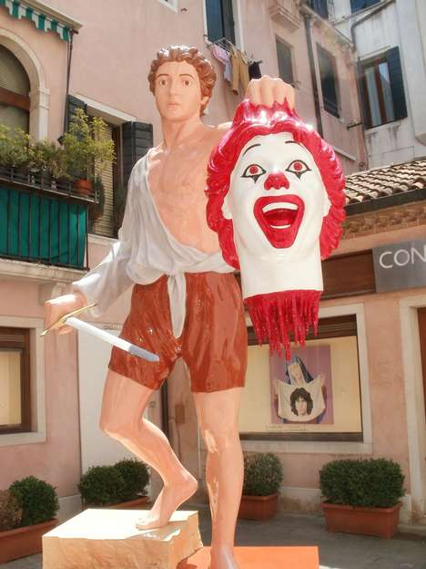 Decapitated Fast Food Mascots