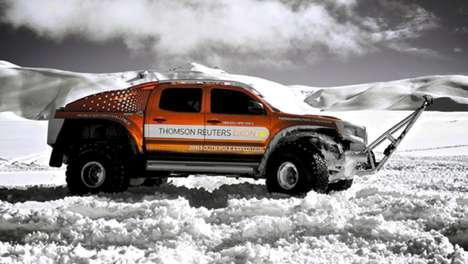 Record-Smashing Snow Trucks