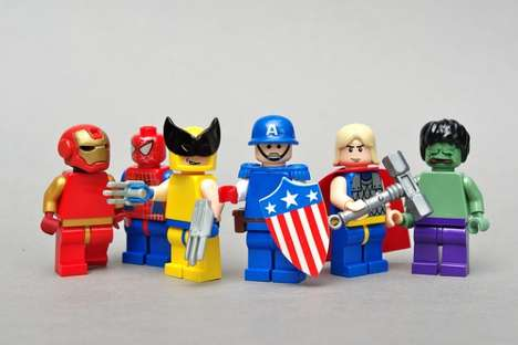 LEGOfied Avenger Toys