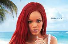 Coconut Water Rockstars - Beachside Ads Show Rihanna for Vita Coco