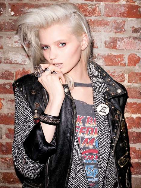 The Abby Lee Kershaw Moussy Fall 2011 Campaign is Edgy Chic