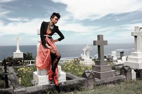 Poignant Cemetery Spreads