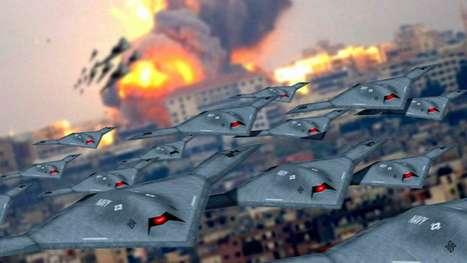 Autonomous Flying Armies