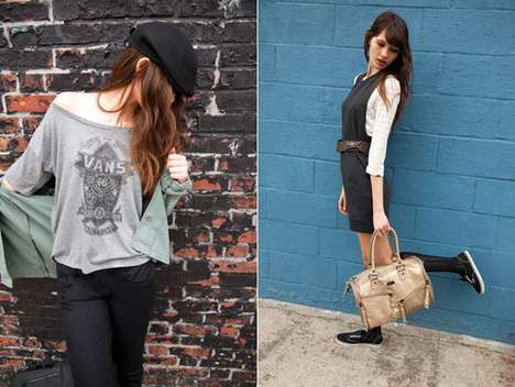 Hipster Girl Lookbooks