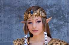 Gamer Princess Dress-Up - Akuriko Angelically Cosplays the One and Only Princess Zelda