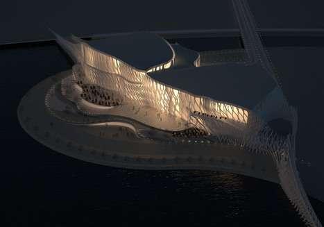Fanciful Filigree Architecture