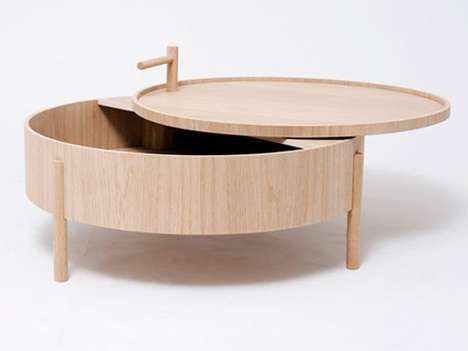 Futuristic Bamboo Tables