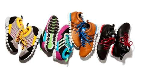 Funky Spectrum Sneakers