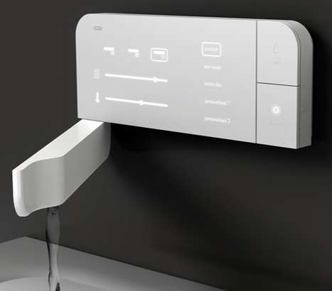Sleek Touch-Screen Sinks