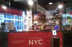 Interactive Fashion Factories - The New Balance Flagship Store in NYC is a Conveyor Belt of Style