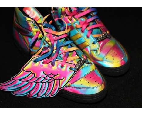 45 Fluorescent Footwear Finds