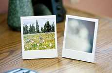 Nostalgic Picture Displays - Michael Zhang's Polaroid Picture Frame and Mirror Has a Vintage Feel