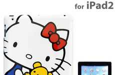 Cute Cat Tablet Protectors - Take Care of your Device Adorably with the Hello Kitty iPad Cover