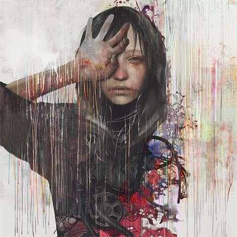 Transcendental Injured Youth Depictions
