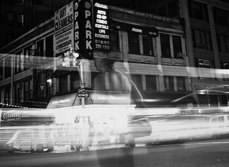 Time-Blurring Tourist Captures - Jonathan Smith Captures NYC Streets as If He Was a Local