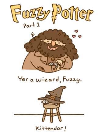 Charming Wizard Kitten Comics