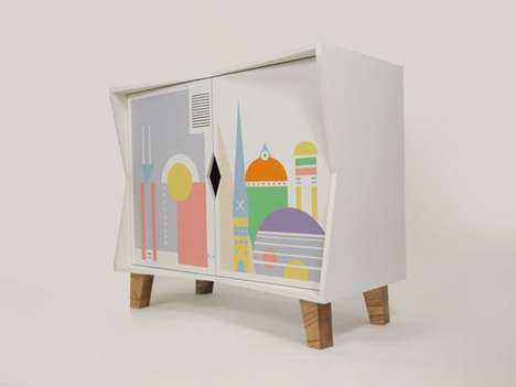 Playfully Painted Furniture