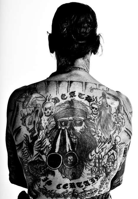 Gritty Tattoed Captures