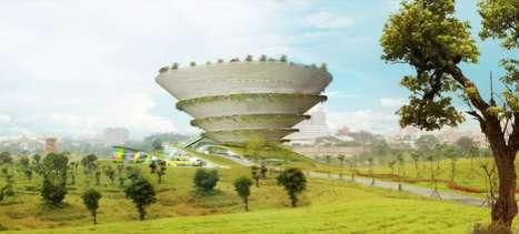 Coiling Cone Architecture