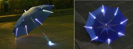 The Light-Up Umbrella is Practical and Stylish
