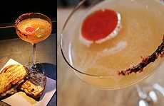 Heart-Stopping Cocktails - The Grilled Cheese Martini is the Best of Both Worlds