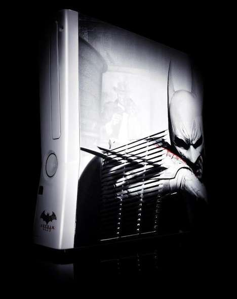 Customized Dark Knight Consoles