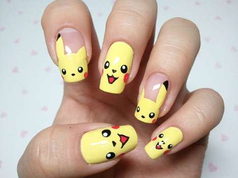 Pocket Monster Manicures