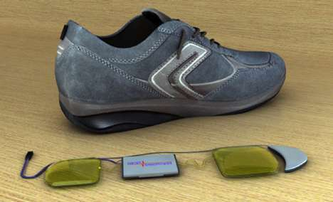 The InStep Nanopower Shoes Create Electricty as You Walk