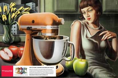 Art-Inspired Cuisine Campaigns