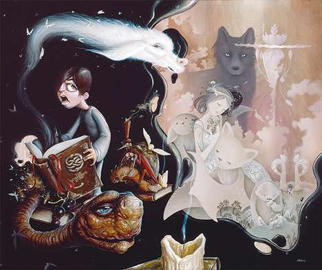 Mythological Manga Art