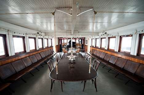The Historic 1907 Yankee Ferry Has Been Transformed Into a Crafty Home