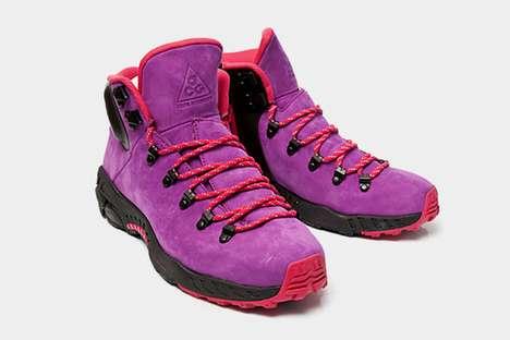 Fluorescent Hiking Footwear