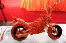 Crazy Crustacean Bikes - The Lobster Motorcycle is Dangerously Delicious