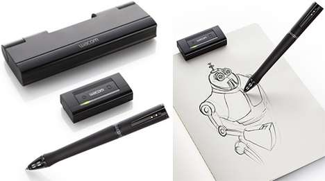 Electronic Sketch Pens
