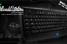 Silent Gaming Keyboards - Enjoy Late-Night Video Games with the Razer BlackWidow Stealth Edition