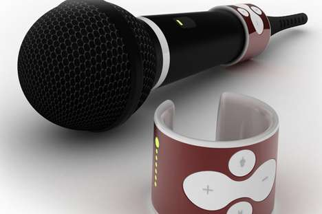 Karaoke Mic Controllers
