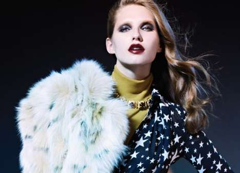 Opulent Fall Editorials - This Kelsey Van Mook Vogue Turkey Photo Shoot is Rich With Fashion